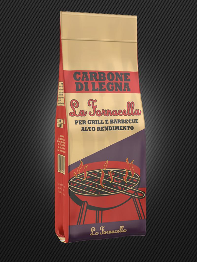 Carbone di Legna : La Fornacella 2.5 kg