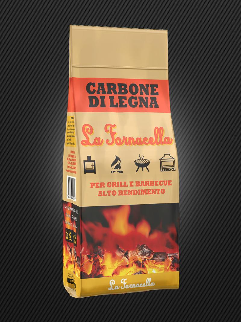 Carbone di Legna : La Fornacella 2kg
