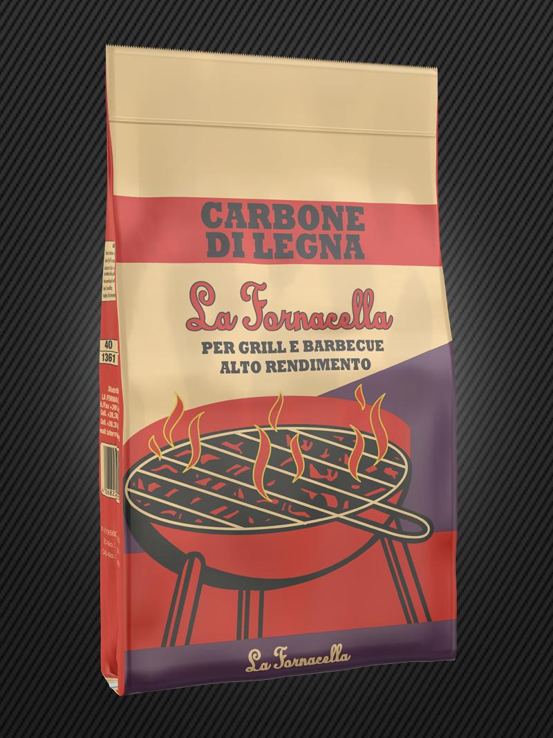 Carbone di Legna : La Fornacella 5kg